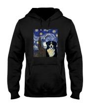 VAN GOGH BERNESE MOUNTAIN DOG Hooded Sweatshirt thumbnail