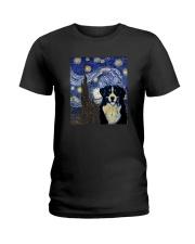 VAN GOGH BERNESE MOUNTAIN DOG Ladies T-Shirt thumbnail