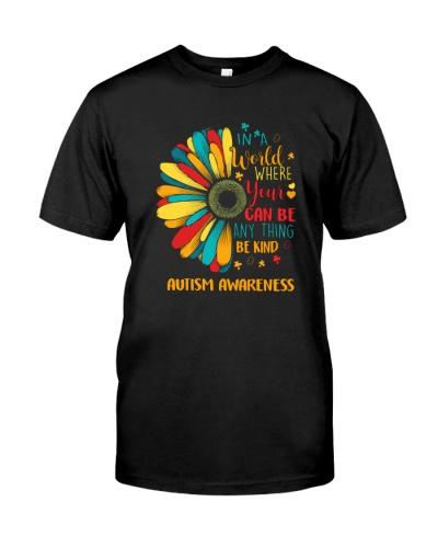 IN A WORLD WBE KIND AUTISM AWARENESS
