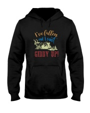 I'VE FALLEN AND I CAN'T GIDDY UP Hooded Sweatshirt thumbnail