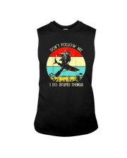 DON'T FOLLOW ME SCUBA DIVING Sleeveless Tee thumbnail