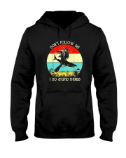 DON'T FOLLOW ME SCUBA DIVING Hooded Sweatshirt thumbnail