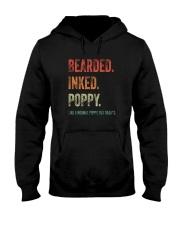 BEARDED INKED POPPY Hooded Sweatshirt thumbnail