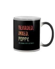 BEARDED INKED POPPY Color Changing Mug thumbnail