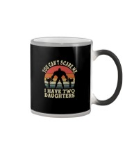 I HAVE TWO DAUGHTERS Color Changing Mug thumbnail