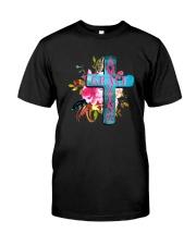 AMAZING GRACE CROSS Classic T-Shirt front