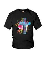 AMAZING GRACE CROSS Youth T-Shirt thumbnail