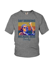 DAY DRINKING BECAUSE 2020 SUCKS BEN DRANKIN Youth T-Shirt thumbnail