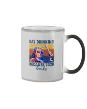 DAY DRINKING BECAUSE 2020 SUCKS BEN DRANKIN Color Changing Mug thumbnail