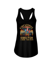 FIREWORKS DIRECTOR I RUN YOU RUN a Ladies Flowy Tank thumbnail