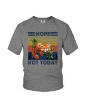NOPE NOTHING RED PANDA Youth T-Shirt thumbnail