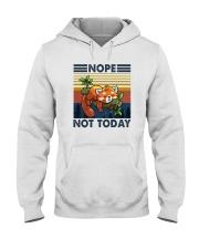 NOPE NOTHING RED PANDA Hooded Sweatshirt thumbnail