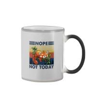 NOPE NOTHING RED PANDA Color Changing Mug thumbnail