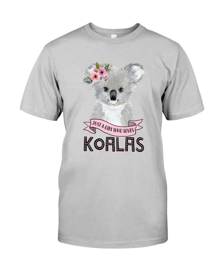 JUST A GIRL WHO LOVES KOALAS Classic T-Shirt