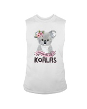 JUST A GIRL WHO LOVES KOALAS Sleeveless Tee thumbnail