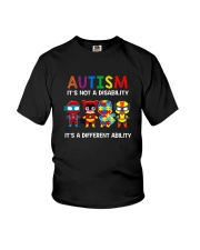 AUTISM IT'S A DIFFERENT ABILITY Youth T-Shirt tile