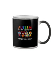 AUTISM IT'S A DIFFERENT ABILITY Color Changing Mug thumbnail