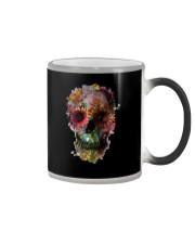 FLORAL SUGAR SKULL Color Changing Mug thumbnail