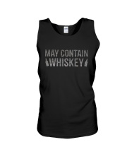 MAY CONTAIN WHISKEY Unisex Tank tile