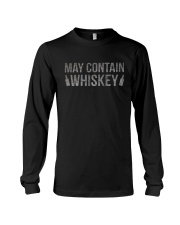MAY CONTAIN WHISKEY Long Sleeve Tee tile