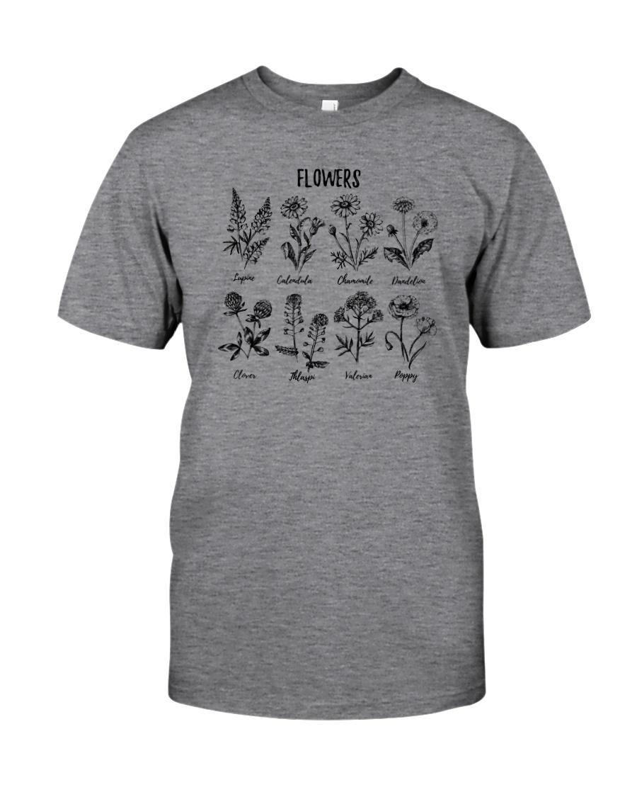 WILDFLOWERS PLANTS LADY Classic T-Shirt