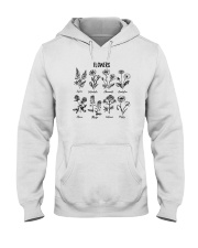 WILDFLOWERS PLANTS LADY Hooded Sweatshirt thumbnail