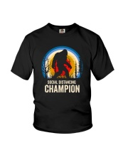 SOCIAL DISTANCING CHAMPION Youth T-Shirt tile