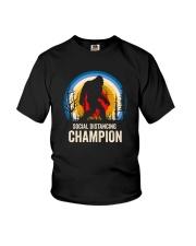 SOCIAL DISTANCING CHAMPION Youth T-Shirt thumbnail