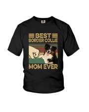 BEST Border Collie MOM EVER s Youth T-Shirt thumbnail