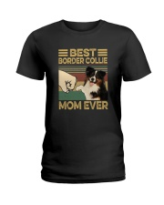 BEST Border Collie MOM EVER s Ladies T-Shirt thumbnail