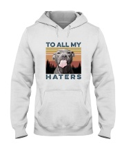 TO ALL MY HATERS Hooded Sweatshirt thumbnail