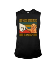 BEST GOLDEN RETRIEVER DAD EVER Sleeveless Tee thumbnail