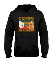 BEST GOLDEN RETRIEVER DAD EVER Hooded Sweatshirt thumbnail