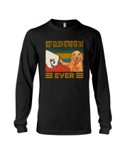 BEST GOLDEN RETRIEVER DAD EVER Long Sleeve Tee thumbnail