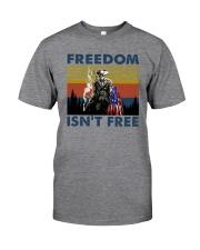 FREEDOM ISN'T FREEE vt Classic T-Shirt front