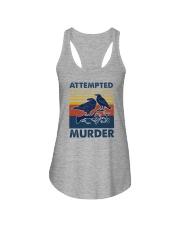 ATTEMPED MURDER VINTAGE Ladies Flowy Tank thumbnail