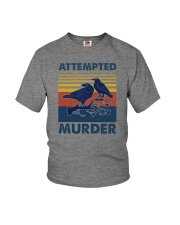 ATTEMPED MURDER VINTAGE Youth T-Shirt thumbnail