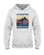 ATTEMPED MURDER VINTAGE Hooded Sweatshirt thumbnail