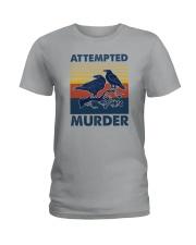 ATTEMPED MURDER VINTAGE Ladies T-Shirt thumbnail