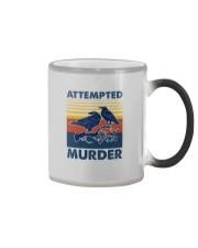 ATTEMPED MURDER VINTAGE Color Changing Mug thumbnail