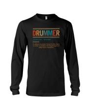 DRUMMER NOUN Long Sleeve Tee thumbnail