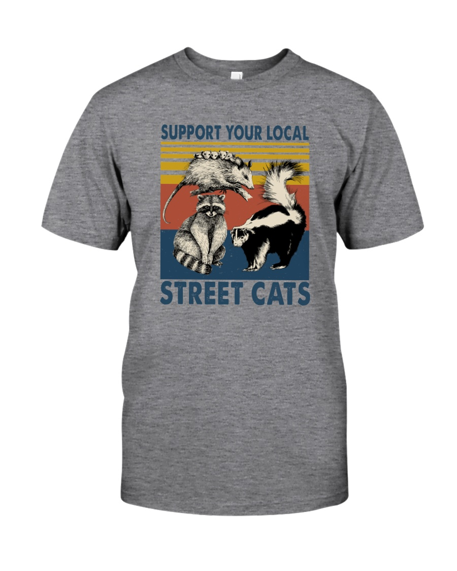 SUPPORT YOUR LOCAL STREET CATS VINTAGE Classic T-Shirt