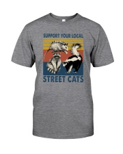 SUPPORT YOUR LOCAL STREET CATS VINTAGE Classic T-Shirt front