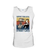 SUPPORT YOUR LOCAL STREET CATS VINTAGE Unisex Tank thumbnail