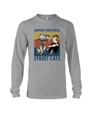 SUPPORT YOUR LOCAL STREET CATS VINTAGE Long Sleeve Tee thumbnail