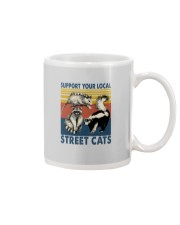 SUPPORT YOUR LOCAL STREET CATS VINTAGE Mug thumbnail