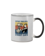 SUPPORT YOUR LOCAL STREET CATS VINTAGE Color Changing Mug thumbnail