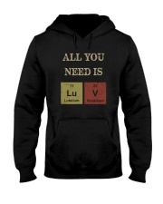 ALL YOU NEED IS LUV Hooded Sweatshirt thumbnail