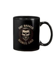 ONE BADASS BONUS DAD Mug thumbnail