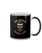 ONE BADASS BONUS DAD Color Changing Mug thumbnail